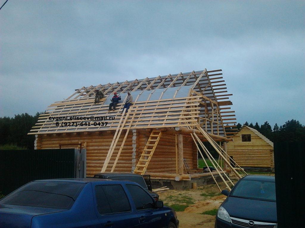 Строительство дома из бревна (29)