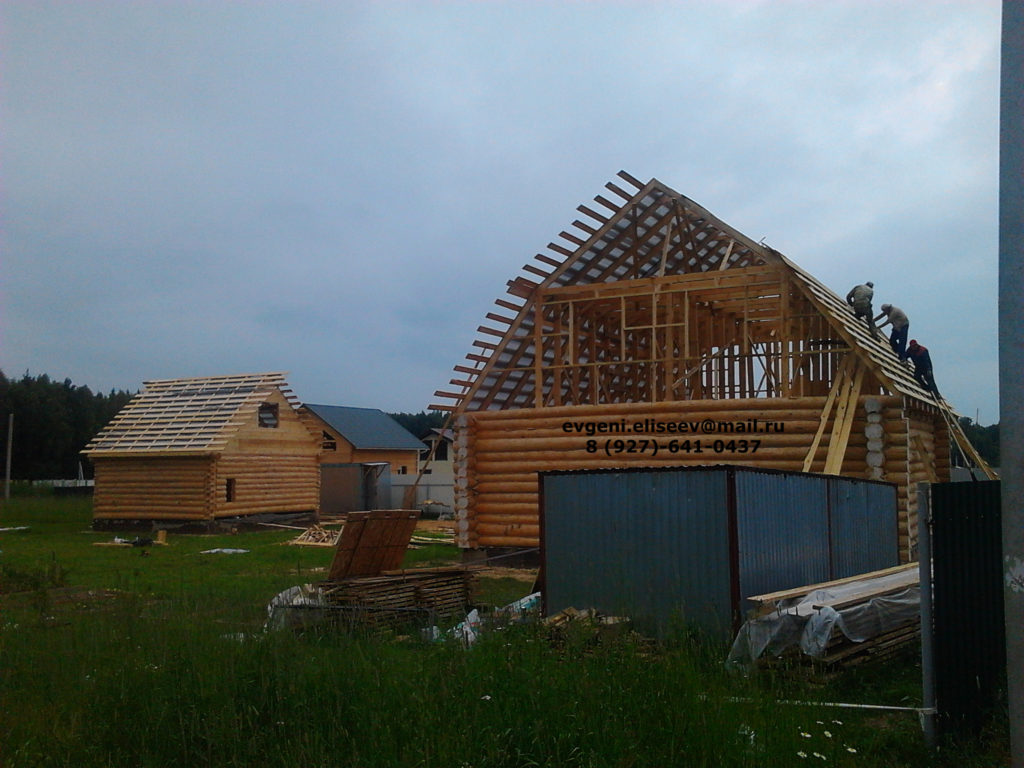 Строительство дома из бревна (30)
