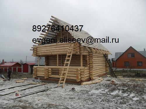 Строительство дома из бревна (31)