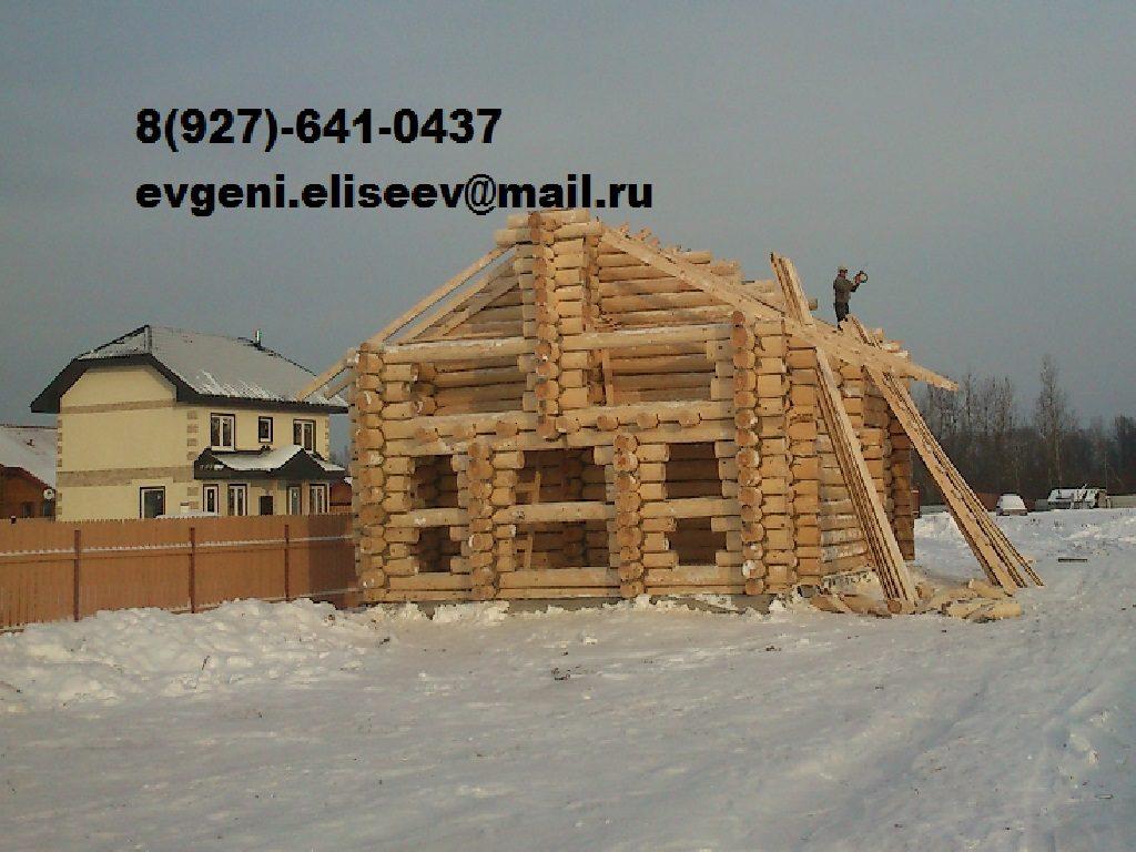 Строительство дома из бревна (34)
