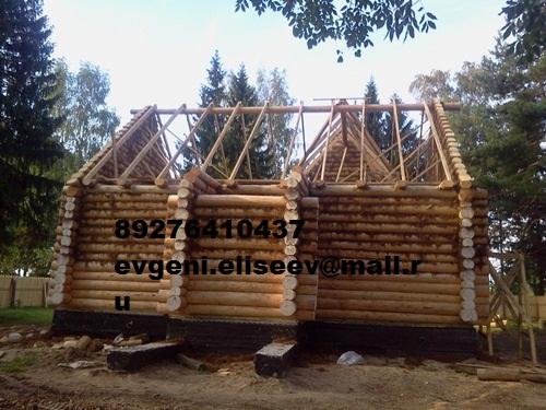 Строительство дома из бревна (35)
