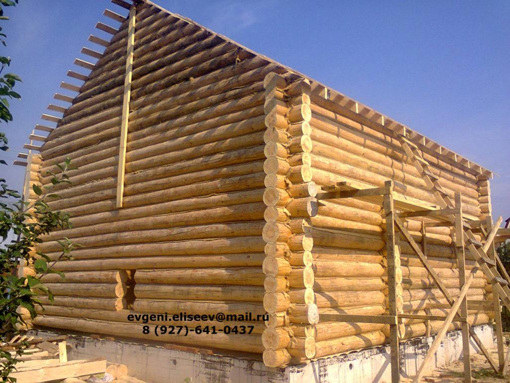 Строительство дома из бревна (38)