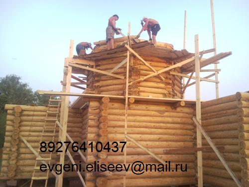 Строительство дома из бревна (39)