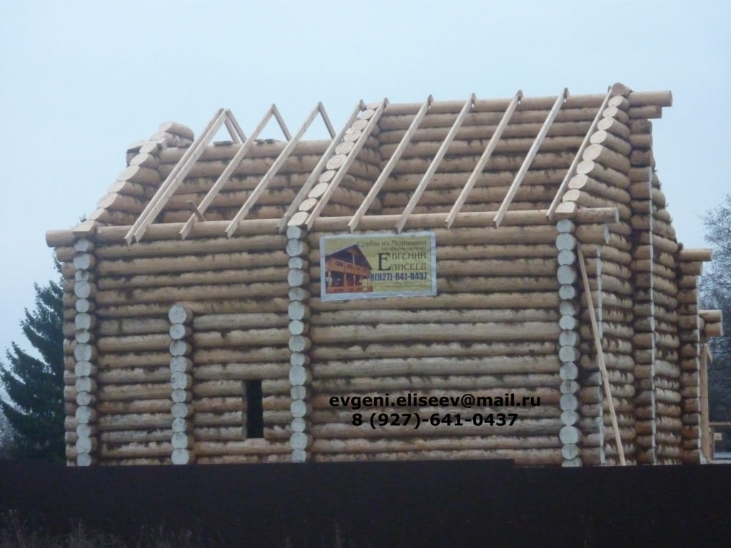 Строительство дома из бревна (4)