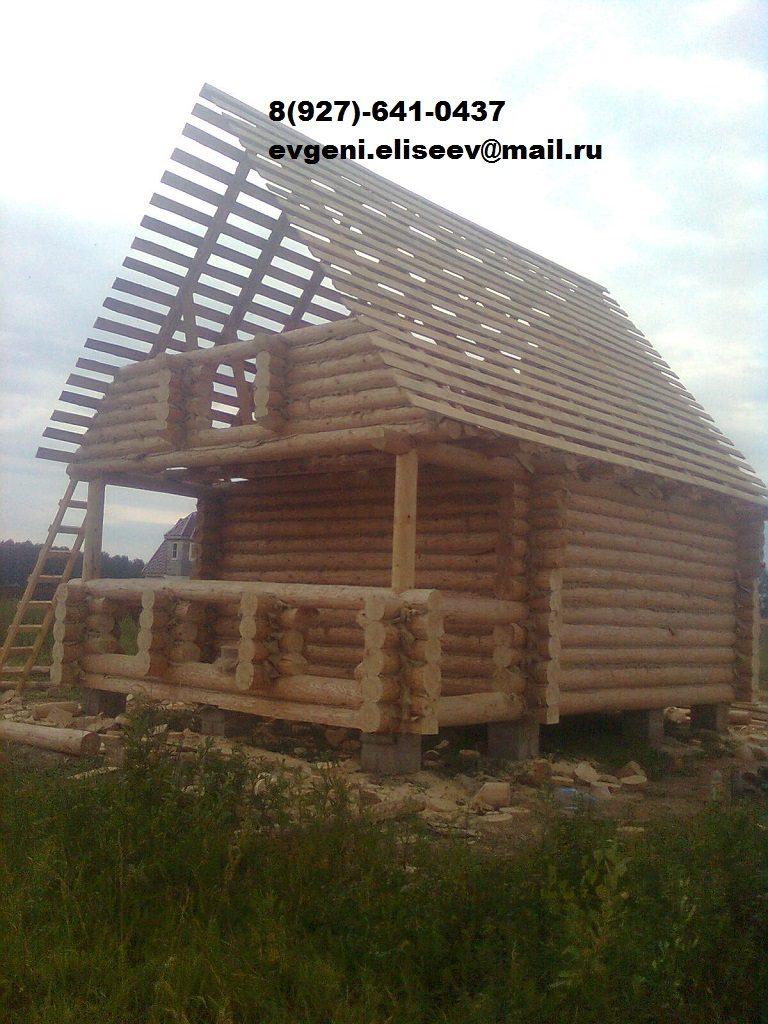 Строительство дома из бревна (42)