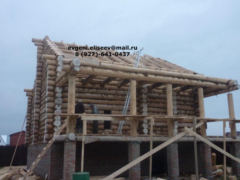 Строительство дома из бревна (5)