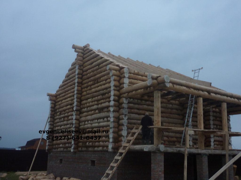 Строительство дома из бревна (6)