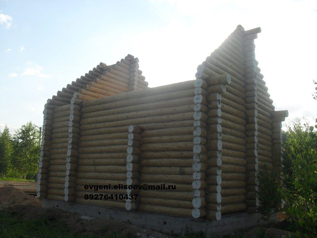 Строительство дома из бревна (7)