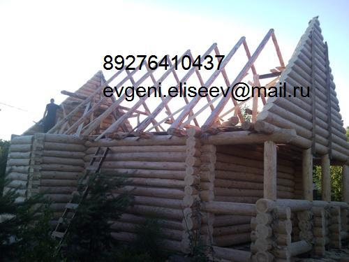 Строительство дома из бревна (9)