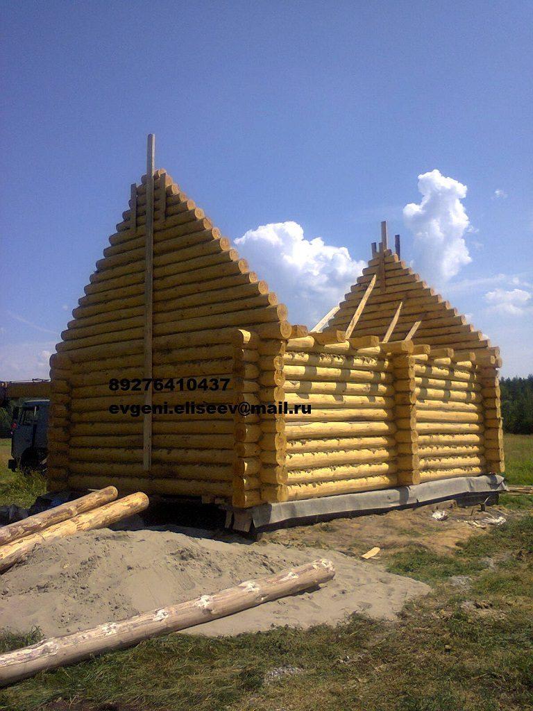 Строительство срубового дома (1)