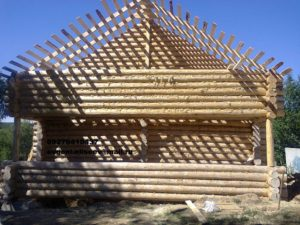 Строительство срубового дома (4)