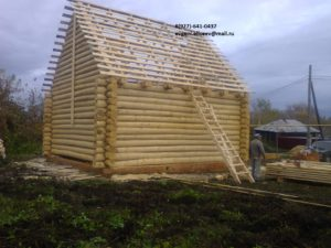 Строительство срубового дома (5)