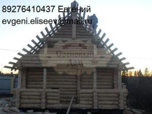 Строительство срубового дома (6)