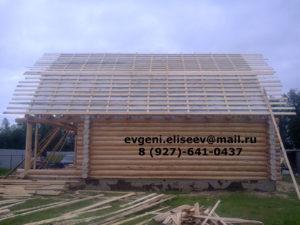 Строительство срубового дома (9)