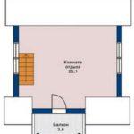 План бани 6 на 6 метров(2)