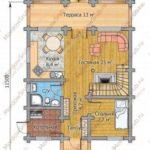 План дома 115 м2