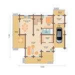 План дома 255 м2