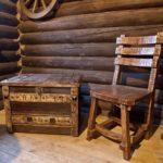 Деревянная мебель из бревна(3)