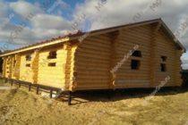 Сруб дома 12 на 12 метров