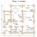 План дома 130 м2