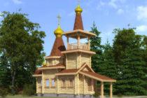 Сруб церкви 35,5 м2