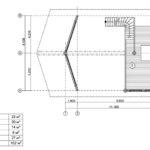 Дикий сруб дома 102 м2 проект
