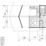 Дикий сруб дома площадью 120 метров квадратных проект
