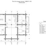Дикий сруб дома 301 квадратных метров план
