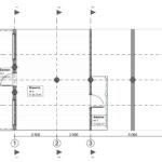 Дикий сруб дома 82 м2 план