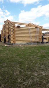 Сруб бани 8 на 8 метров г. Ногинск