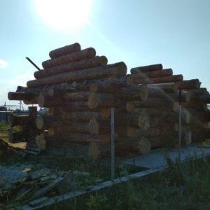 дикий сруб 7.5 на 7.5 в Ульяновске